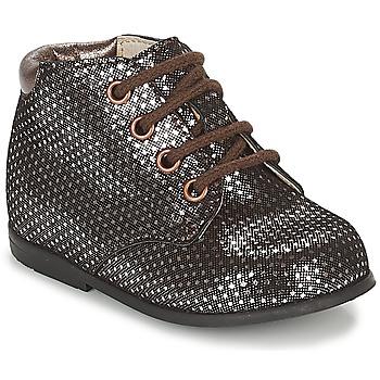 Zapatos Niña Botas de caña baja GBB TACOMA Cobre / Rosa