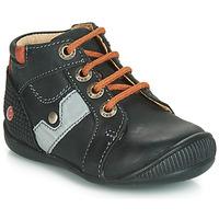 Zapatos Niño Zapatillas altas GBB REGIS Negro / Naranja