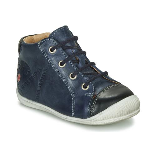Zapatos Niño Botas de caña baja GBB NOE Marino