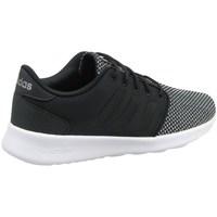 Zapatos Mujer Zapatillas bajas adidas Originals CF QT Racer W Negros-Grises