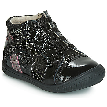 Zapatos Niña Zapatillas altas GBB ROSETTA Negro / Plata