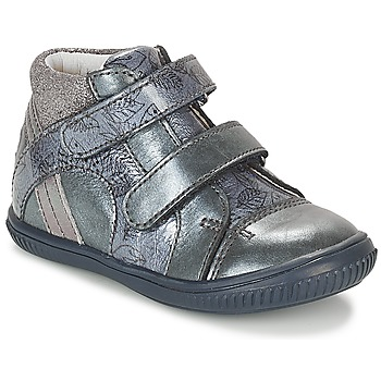 Zapatos Niña Zapatillas altas GBB ROXANE Azul / Gris