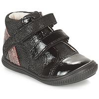 Zapatos Niña Zapatillas altas GBB ROXANE Negro / Plateado