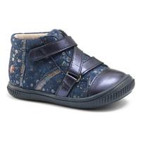 Zapatos Niña Zapatillas altas GBB NICOLETA Vte / Marino - lunares / Dpf / Franca