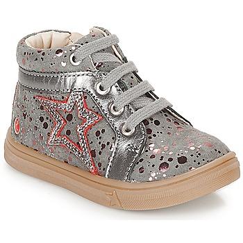Zapatos Niña Zapatillas altas GBB NAVETTE Gris / Rosa