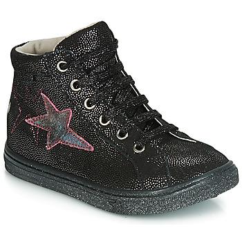 Zapatos Niña Zapatillas bajas GBB MARTA Vte / Negro - disco / Dpf / Dolby