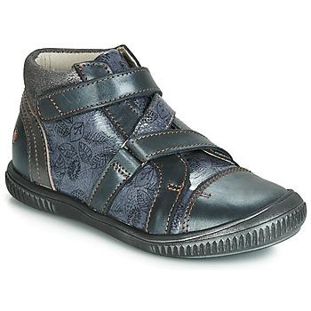 Zapatos Niña Zapatillas altas GBB RADEGONDE Vtv / Azul / Gris / Dpf / Franca