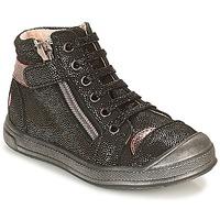 Zapatos Niña Zapatillas altas GBB DESTINY Negro / Brillantina