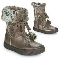 Zapatos Niña Botas urbanas GBB NOUSTIK Bronce