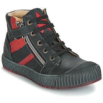 Zapatos Niño Zapatillas altas GBB RAMBOUTAN Vte / Negro / Dpf / Linux