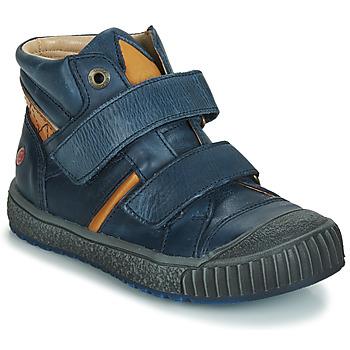 Zapatos Niño Zapatillas altas GBB RAIFORT Marino / Ocre