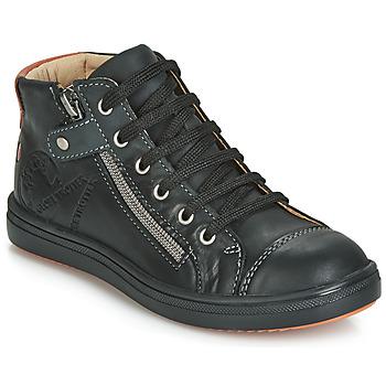 Zapatos Niño Zapatillas altas GBB NICO Vte / Negro / Dpf / 2835