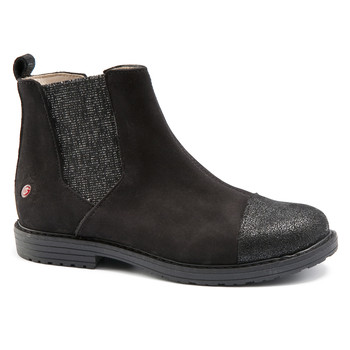 Zapatos Niña Botas de caña baja GBB LEONTINA Nuc / Negro / Dpf / Emma