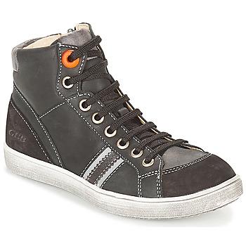 Zapatos Niño Zapatillas altas GBB ANGELO Negro