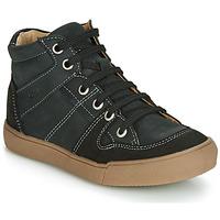 Zapatos Niño Zapatillas altas GBB NEMOON Vtc / Negro / Dpf / Blanco