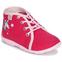 Zapatos Niña Pantuflas GBB FEE ARC EN CIEL Ttx / Frambuesa / Dtx / Amis