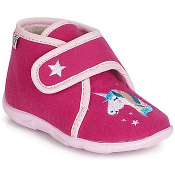Zapatos Niña Pantuflas GBB FEE DES BOIS Ttx / Frambuesa / Dtx / Amis
