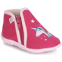 Zapatos Niña Pantuflas GBB FEE STELLA Ttx / Frambuesa / Dtx / Amis