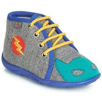Zapatos Niño Pantuflas GBB SUPER BOYS Ttx / Gris azul / Dtx / Amis