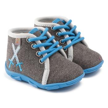 Zapatos Niño Pantuflas GBB DAGONET Ttx / Gris - cielo / Dtx / Amis