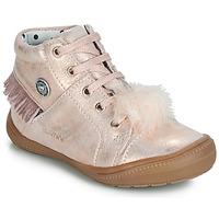 Zapatos Niña Zapatillas altas Catimini ROSALIE Vte / Rosa / Polvo / Dpf / 2822