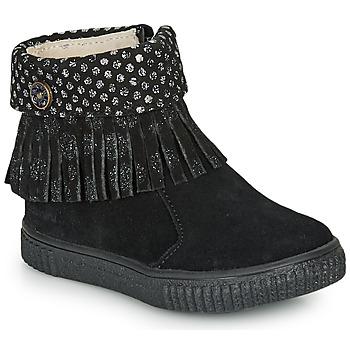 Zapatos Niña Botas de caña baja Catimini PERETTE Ctv / Negro / Dpf / Ester