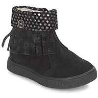 Zapatos Niña Botas de caña baja Catimini PERETTE Negro / Plateado