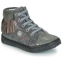 Zapatos Niña Zapatillas altas Catimini LOULOU Gris / Rosa