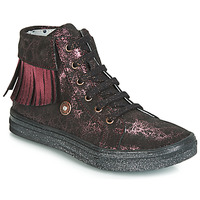 Zapatos Niña Zapatillas altas Catimini LOULOU Negro / Rosa