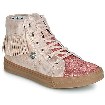 Zapatos Niña Zapatillas altas Catimini LOULOU Rosa