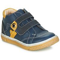 Zapatos Niño Zapatillas altas Catimini BICHOU Marino / Mostaza