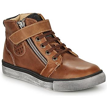 Zapatos Niño Zapatillas altas Catimini TOBBY Marrón