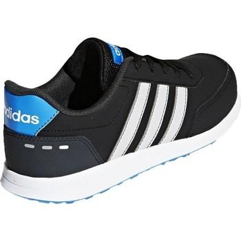 Zapatos Niños Zapatillas bajas adidas Originals VS Switch 2 K Azul-Negros-Grises