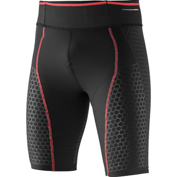 textil Hombre Pantalones Salomon S-Lab Exo Short Tight Negro