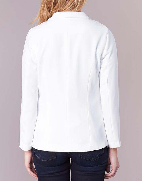 Betty Mujer Blanco Textil London Ikarole ChaquetasAmericana 534LqARj