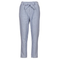 textil Mujer pantalones con 5 bolsillos Betty London IKARALE Azul / Blanco