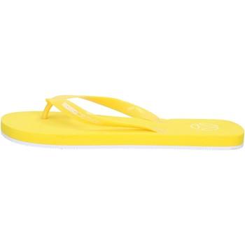 Zapatos Hombre Chanclas Momo DESIGN sandalias amarillo gomma AG30 amarillo
