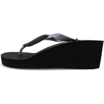 Zapatos Mujer Chanclas Lotto sandalias gris gomma negro AG142 gris
