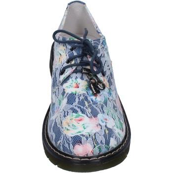 Zapatos Niña Derbie & Richelieu Enrico Coveri elegantes azul textil AG247 azul