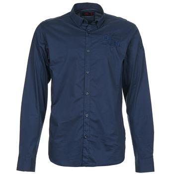 textil Hombre camisas manga larga Les voiles de St Tropez ACOUPA Marino