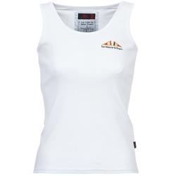 textil Mujer camisetas sin mangas Les voiles de St Tropez BLENNIE Blanco