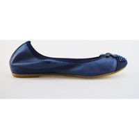Zapatos Mujer Bailarinas-manoletinas Cruz AG314 azul