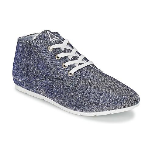 Zapatos Mujer Zapatillas bajas Eleven Paris BASGLITTER Plateado
