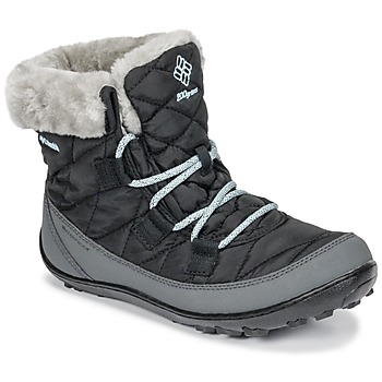 Zapatos Niños Botas de nieve Columbia YOUTH MINX™ SHORTY OMNI-HEAT™ WATERPROOF Negro