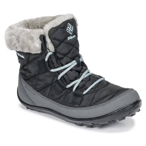 Columbia YOUTH MINX SHORTY OMNI-HEAT™ WATERPROOF Negro - Envío gratis | ! - Zapatos Botas de nieve Nino