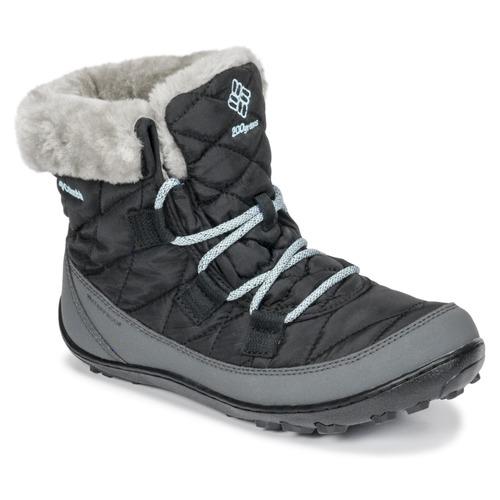 Zapatos Niños Botas de nieve Columbia YOUTH MINX SHORTY OMNI-HEAT™ WATERPROOF Negro