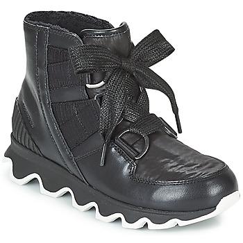 Zapatos Mujer Botas de nieve Sorel KINETIC™ SHORT LACE Negro