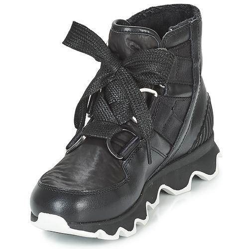 Kinetic™ Zapatos De Botas Short Negro Lace Nieve Sorel Mujer eWDYH9I2E