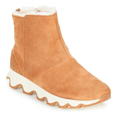 Zapatos Mujer Botas de nieve Sorel KINETIC™ SHORT Camel
