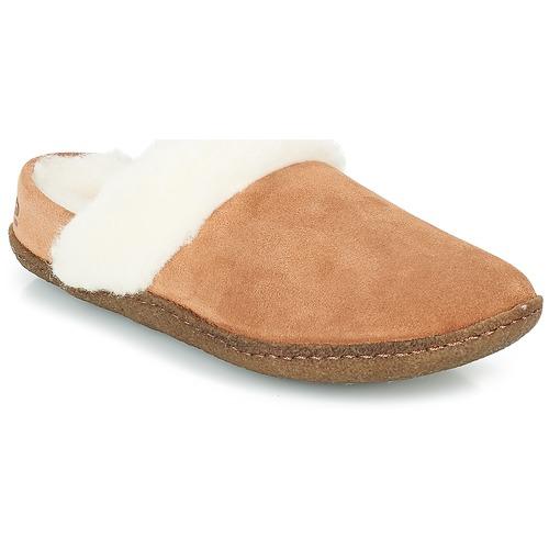 Venta de liquidación de temporada Sorel NAKISKA™ SLIDE II Camel - Envío gratis Nueva promoción - Zapatos Pantuflas Mujer